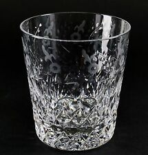 """Gallia Crystal By Rogaska Old Fashioned Glass - 4"""" Tall"""