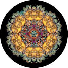 Sleeping Sunflower-Custom Spare Tire Cover -Wheel Cover