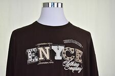 Enyce Mens Shirt Long Sleeve Pullover Shirt Size 3XL Cotton Graphic T-Shirt