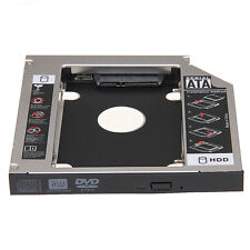 "2.5"" 12.7mm SATA HDD Caddie Caddy Rack Disque Dur pour CD/DVD-ROM PC Universel"