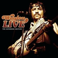 Waylon Live-Expanded Edition - Waylon Jennings (2003, CD NIEUW)2 DISC SET