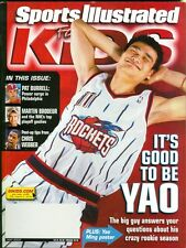 2003 Sports Illustrated for Kids Yao Ming w/Cards: LeBron James High School