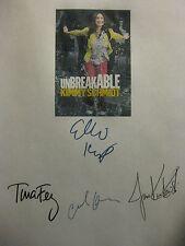 Unbreakable Kimmy Schmidt Signed TV Script Tina Fey Ellie Kemper Carol Kane rpnt