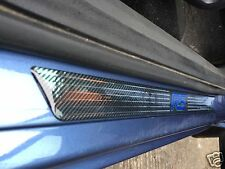 Ford Focus RS Carbon Fibre Effect Car Door Sills Protectors, kick plates, RS