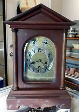 Antique JUNGHANS Mantel Clock Chiming Germany, Movement B10, Circa 1910