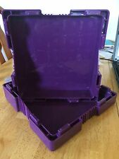 EMPTY PURPLE MONSTER BOX FOR 500 PROVIDENT METAL COPPER ROUNDS NO COINS
