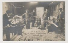 Essex postcard - W T Taylors Saw Planing & Moulding Mills, Leigh on Sea - RP