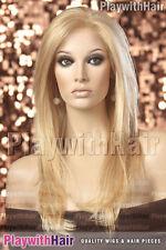 Sexy LONG Silky Lace Front Wig Honey Blonde Mix : Jon Renau - Zara