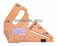 Router Table Saw Push Block /Blade Depth & Angle Gauge, Hook Rule, Center Finder