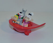 "1990 Astro Elroy & Judy 2.75"" Kraft Foods PVC Movie Action Figure Car Jetsons"
