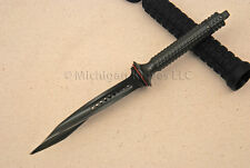 Microtech Knife - Mini Jagdkommando Knife - Dark Green - Dagger - Stiletto