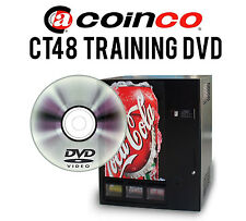 Coinco CT48 Drink Vendor Training DVD - Includes .PDF Manual