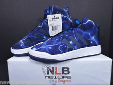 Adidas Veritas Mid K Mens Size 7 [S31582] Blue/White/Pattern Fit Foam ORIGINALS