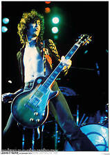 "Jimmy Page Led Zep in LA - Retro Poster A1 Size 84cm x 59.4cm - approx 34"" x 24"""