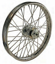 "40 SPOKE 21"" FRONT WHEEL 21 X 2.15 SINGLE DISC HARLEY SHOVELHEAD FL FLH 73-83"