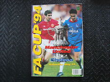FA Cup 1994 Manchester United v Chelsea, sporting world series 3
