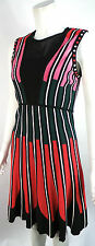 M BY MISSONI MULTI STRIPE KNITTED A-LINE DRESS SIZE 44/UK12 BNWT RRP £395!!