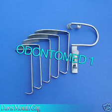 Davis Mouth Gag Without Pipe Surgical Dental Anesthesia Instruments