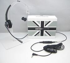 IP-Touch Headset for Alcatel 4028 4029 4038 4039 4068 Phones with 3.5mm L-Plug