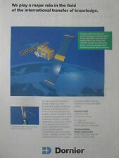 6/89 PUB DORNIER EARTH OBSERVATION SATELLITE ERS-1 WIND DRIVEN PLANT DARRIEUS AD