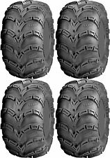 Four 4 ITP Mud Lite AT ATV Tires Set 2 Front 22x8-10 & 2 Rear 25x12-9 MudLite