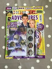 DOCTOR WHO ADVENTURES MAGAZINE Issue 129 With Free Gifts - Free Postage