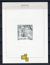 34131) LUXEMBOURG 2006 MNH** Christmas s/s Printing Test