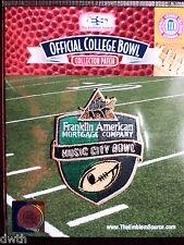 Offiicial NCAA College Football Music City Bowl 2016/17 Patch Nebraska Tennessee
