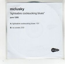 (FW120) Mclusty, Lightsabre C***sucking Blues - DJ CD
