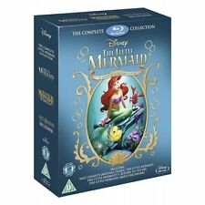 THE LITTLE MERMAID TRILOGY - BLU RAY - NEW / SEALED