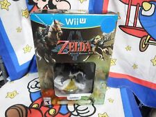 Nintendo Wii U Legend of Zelda: Twilight Princess HD Amiibo Bundle Game NEW