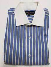 New ROBERT TALBOTT Sz 16-34 Executive Contrast Collar French Cuff Dress Shirt
