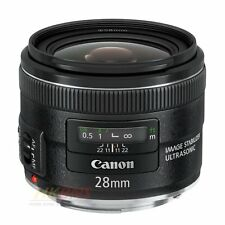 Canon EF 28mm f/2.8 IS USM Wide Angle Lens 28 F2.8 for EOS 7D 5D Mark II III 1DX