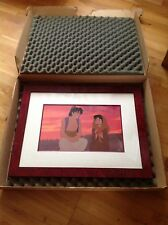 Walt Disney Art Cel Collectors Edition Aladdin Sunset  Number 6 of 500.