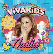 CD + DVD Set Vivakids Volume 1 - Thalia Sealed New !