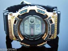 Men's Casio G Shock 4.00CT diamonds Watch G2900 Rose tone case
