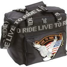 Live To Ride® Motorcycle Cooler Bag With Sissy Bar Strap