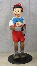 Pinocchio Figur mit Eis Skulptur Groß Werbefigur Deko Statue Dekoration NEU