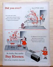 Little Lulu Kleenex color ad from 1954 w/ Marge art - Little Lulu - Did You Ever