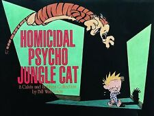 Calvin and Hobbes: Homicidal Psycho Jungle Cat : A Calvin and Hobbes Collection…