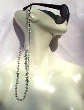 WHITE PEARLFAIRY - Howlith Süsswasserzuchtperlen Brillenkette Halskette weiß