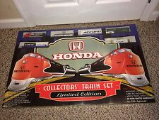 Vintage 90's F/S Sealed Mint Honda Limited Edition Railroad HO Freight Train Set