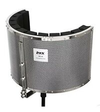 LyxPro VRI-20 Portable Sound Absorbing Vocal Recording Panel - Stand Mount