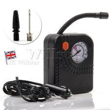 Portable 12v Mini Air Compressor Tyre Inflator Car Motorcycle Bike Bed Pump UK
