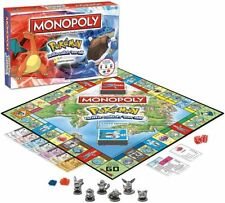 Monopoly Pokemon Kanto Region Edition Board Game