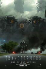 """014 Transformers 4 Age of Extinction - 2014 Hot Movie Film 14""""x21"""" Poster"""