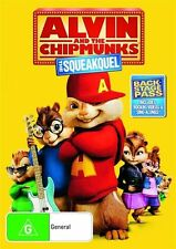 ALVIN and the CHIPMUNKS The Squeakquel DVD R4