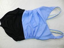 WOMENS 1pc black & lilac SWIMSUIT = MIRACLE SUIT SIZE 10 miraclesuit underwire