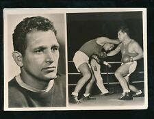 Sports BOXING Julias Torma early RP PPC Olympic Gold 1948 large size 154x109mm