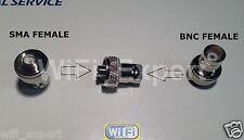 SMA to BNC SMA-F to BNC-F adapter for BaoFeng UV-5RA UV-5RB UV-5RC UV-5RD UV-5RE